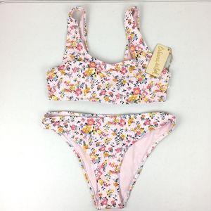 Cabana Del Sol Floral Pink Bikini